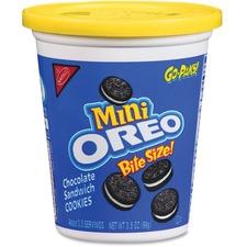 Oreo Mini Bite Size Cookies Go Pak