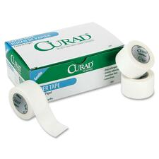"""Curad Paper Adhesive Tape - 10 yd Length x 2"""" Width - Paper - 6 / Box - White"""