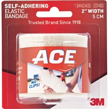 """MMM 207460 3M ACE Brand Self-adhering 2"""" Elastic Bandage MMM207460"""