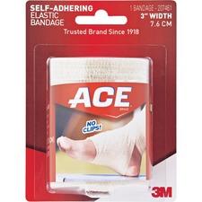 """MMM 207461 3M ACE Brand Self-adhering 3"""" Elastic Bandage MMM207461"""