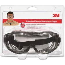 MMM 9126480025T 3M Chemical Splash/Impact Goggles MMM9126480025T