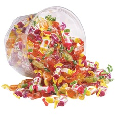 OFX 00039 Office Snax True to Fruit Candy Tub Mix OFX00039