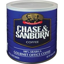 OFX 33000 Office Snax Chase and Sanborn Arabica Coffee OFX33000