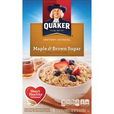 QKR 01190 Quaker Foods Instant Oatmeal QKR01190