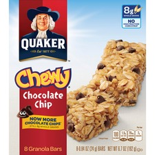 QKR 31182 Quaker Foods Chocolate Chip Chewy Granola Bars QKR31182