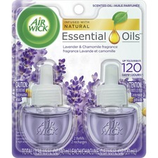 Air Wick Scented Oils - Oil - 0.67 oz - Lavender, Chamomile - 2 / Pack