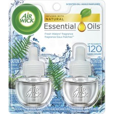 Air Wick Scented Oils - Oil - 0.67 oz - Freshwater - 2 / Pack