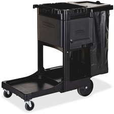 RCP 1861430 Rubbermaid Executive Janitor Cleaning Cart RCP1861430