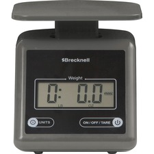 SBW PS7GRAY Saltner Brecknell Electronic 7lb Postal Scale SBWPS7GRAY