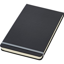 TOP 56886 Tops Black Cover Wide Ruled Top Bound Journal TOP56886