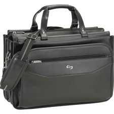 USL CLS3464 US Luggage Triple Gusset Laptop Briefcase USLCLS3464