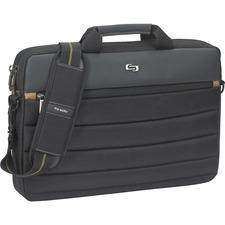 USL PRO1464 US Luggage Pro Dbl Gusset Laptop Slim Briefcase USLPRO1464