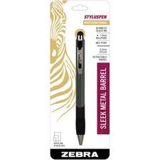 ZEB 33301 Zebra Pocket Clip Stylus Pen Combo ZEB33301