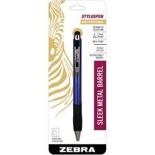 ZEB 33321 Zebra Retractable Styluspen ZEB33321