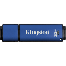 Kingston 32GB DataTraveler Vault Privacy 3.0 USB 3.0 Flash Drive