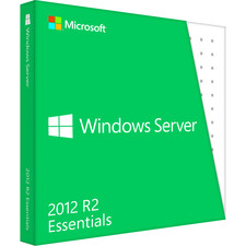 Microsoft Windows Server 2012 R.2 Essentials 64-bit - Complete Product - 25 User, 1 Server, 2 CPU - Standard