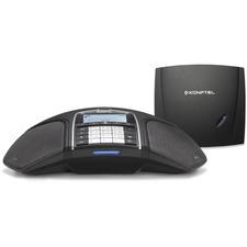 Konftel - conference phone - Konftel 300Wx Analog - cordless - includes analog DECT base - DECTGAPCAT-iq - 60h talktime - expandable - Corded/Cordless - 656.2 ft (200 m) Range - Speakerphone