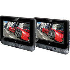 "GPX PD7711B Car DVD Player - 7"" LCD - 16:9"