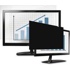 """Fellowes PrivaScreenâ""""¢ Blackout Privacy Filter - 21.5"""" Wide - For 21.5""""LCD Notebook, Monitor - TAA Compliant"""
