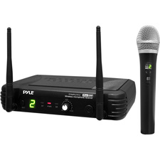 PylePro Professional Premier Series PDWM1902 Wireless Microphone System