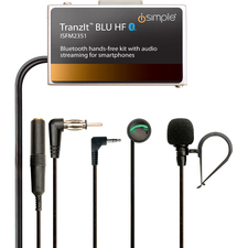 iSimple TranzIt Wireless Bluetooth Car Hands-free Kit