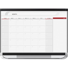 QRT CP32P2 Quartet Total Erase Monthly Undated Calendar QRTCP32P2