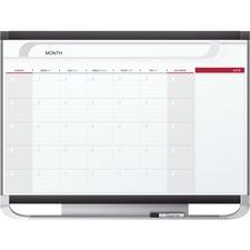 QRT CP43P2 Quartet Total Erase Monthly Undated Calendar QRTCP43P2