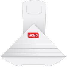 QUA 46058 Quality Park Write-on XL Memo Deltaclip QUA46058
