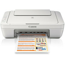 Canon PIXMA MG2520 Inkjet Multifunction Printer - Color - Plain Paper Print - Desktop