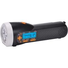 AcuRite Emergency Weather Alert NOAA Radio / Flashlight with Hand Crank 08560