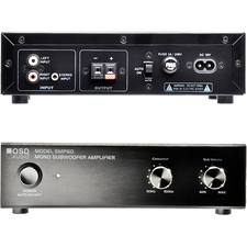 OSD Audio SMP60 Amplifier - 40 W RMS - 1 Channel - Black