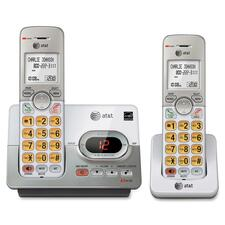 AT&T EL52203 DECT 6.0 Cordless Phone - 1 x Phone Line - 2 x Handset - Speakerphone - Answering Machine