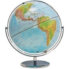 "Advantus Physical/Political World Globe - 12"" (304.80 mm) Diameter"