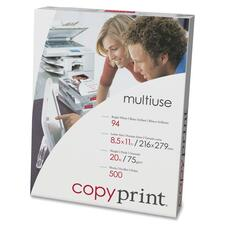 "Domtar copyprint Copy & Multipurpose Paper - 94 Brightness - Letter - 8 1/2"" x 11"" - 20 lb Basis Weight - 500 / Ream"