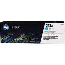 HP 312A (CF381A) Original Toner Cartridge - Single Pack - Laser - 2700 Pages - Cyan - 1 Each