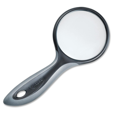 "Maped 75 mm Round Magnifier - Magnifying Area 2.95"" (75 mm) Diameter - Glass Lens"