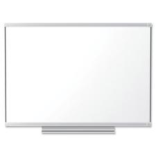 """Quartet Display Board - 48"""" (1219.20 mm) Height x 96"""" (2438.40 mm) Width - Aluminum Frame - 1 Each"""