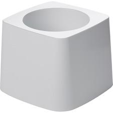 Rubbermaid Toilet Bowl Brush Holder - 1 Each - White