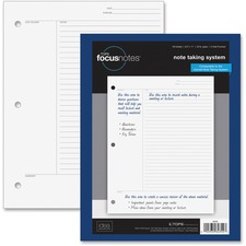 TOP 62354 Tops FocusNotes Filler Paper TOP62354