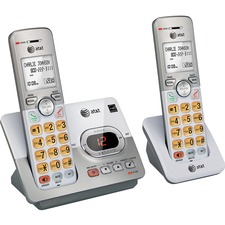 AT&T Cordless System Accessory Handset - Cordless - DECT 6.0 - 1 x Total Number of Phone LinesWall Mountable - Silver