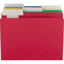 SMD 10404 Smead FlexiFolder Movable Tab Hvywt Color Folders SMD10404