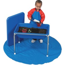 """Childrens Factory Small Sensory Table and Lid Set - Rectangle - 4 Legs - 28.50"""" x 20.50"""" x 20.5"""" - P"""