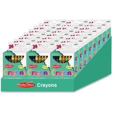 LEO 42024ST Charles Leonard Creative Arts 24 Crayon Display LEO42024ST