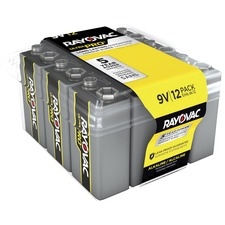 RAY AL9V12PPJ Rayovac Ultra Pro Alkaline 9 Volt Batteries 12-pk RAYAL9V12PPJ