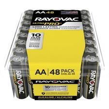 RAY ALAA48PPJ Rayovac Ultra Pro Alka AA48 Batteries RAYALAA48PPJ