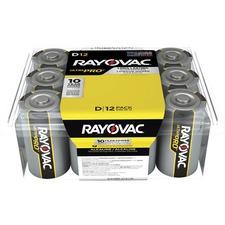 RAY ALD12PPJ Rayovac Ultra Pro Alkaline D Batteries RAYALD12PPJ