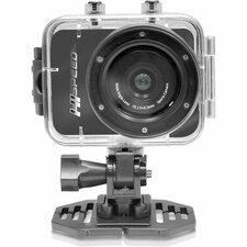 "Pyle PSCHD60BK Digital Camcorder - 2.4"" - Touchscreen LCD - CMOS - Full HD - Black"
