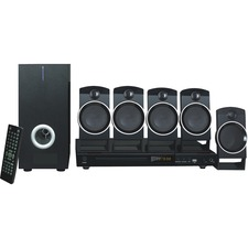 Naxa ND-859 5.1 Home Theater System - DVD Player - Black
