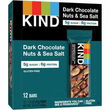 KND17851 - KIND Dark Chocolate Nuts/Sea Salt Snack Bars