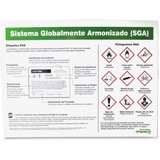 IMP 799078 Impact GHS Label Guideline Spanish Poster IMP799078